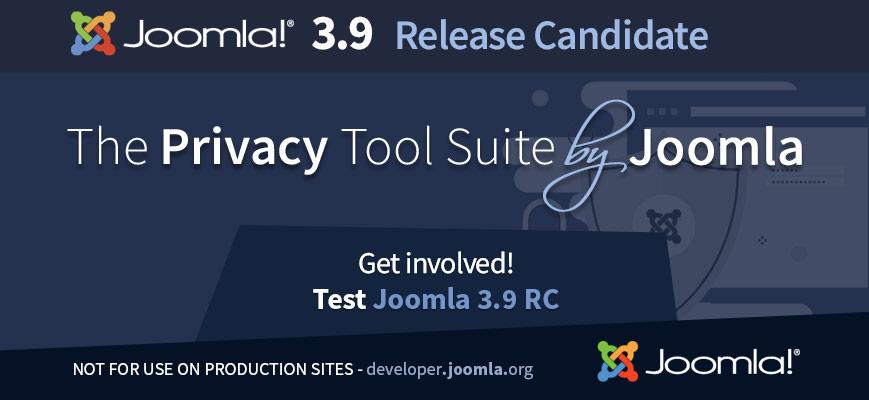 Joomla 3.9 RC