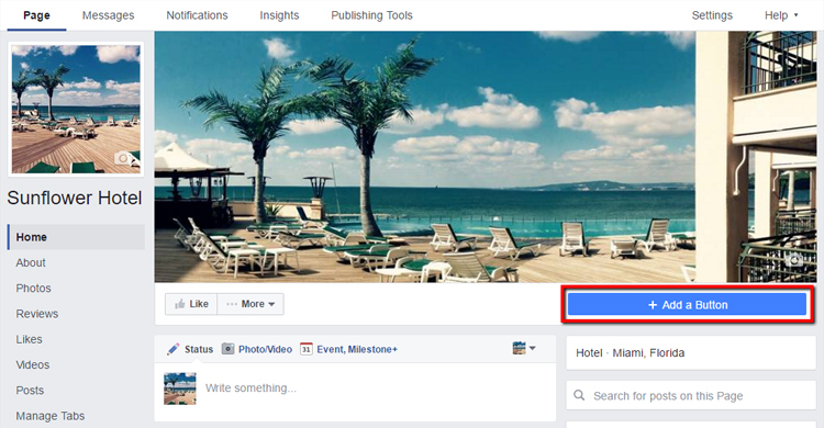 Create a 'Book Now' Call to Action Button on Facebook