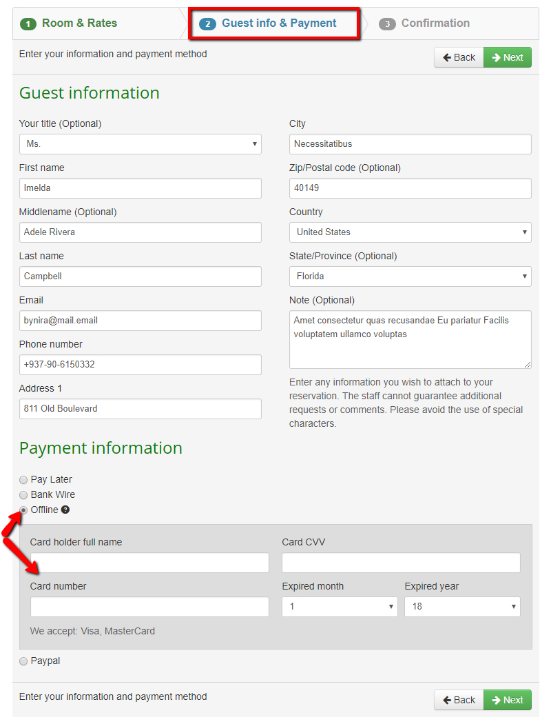 How to configure Offline payment plugin